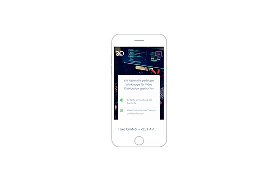 Screenshot 3Q Website REST API