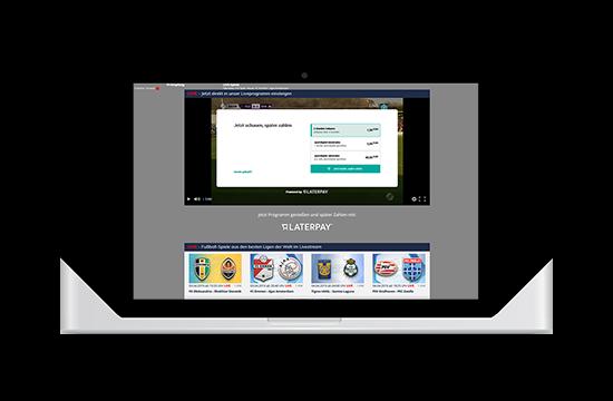 Screenshot sportdigital neue Mediathek