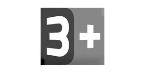 3Plus logo