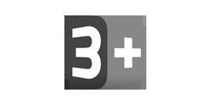 3 Plus logo